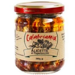 Anchovies with Calabrian Chilli | Alicete al Peperoncino| Buy Online | Italian Food | UK
